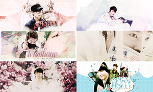donghae/sign/birthday by flybabeee