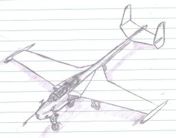 lecture sketches - Jet Trainer by packie1984