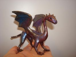 Metallic Dragon by CharpelDesign