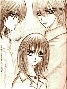 Love Triangle by Vampire-Knight-Fans
