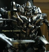 Custom Transformers Leader Megatron repaint by Catskind
