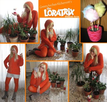 Instant Cosplay - The Loratrix -Human form- by GreenArcherAlchemist