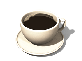 a cup of coffee by panzi