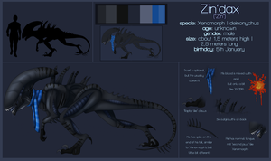Zin'dax reference sheet by GoldenNove