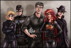 RELATIVITY_The heroes by FranciscoETCHART