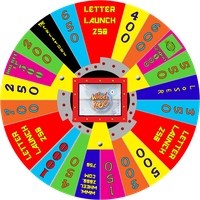 Wheel 2000 with Letter Launch space by wheelgenius