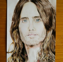 Jared Leto Drawing by Christianspiral