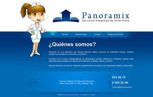 Panoramix Home Web by Vincentburton