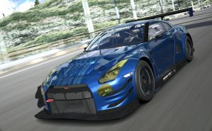 Nissan GT-R GT3 (15th Anniversary) by RacerZX