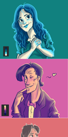 Palette Challenge 1-3 by Fonora