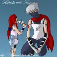 Koto and Kakashi: You're Hurt by MinsunWon