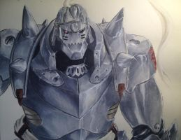 Alphonse Elric by MS-06J