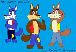 The saban wolves from My favorite fairy tales by marlon94