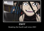 FMA: Envy and the Fourth Wall by Tyranecia