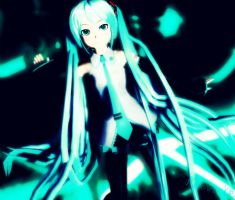 MMD Nice Hair Miku by RinXNeruXD