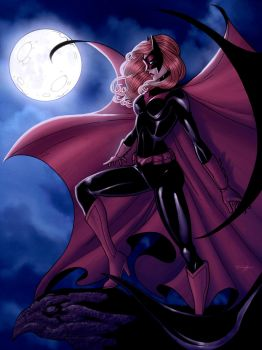 Batwoman- Colored by JamieFayX