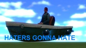 Garry's Mod - HATERS GONNA HATE by ReptileMK423