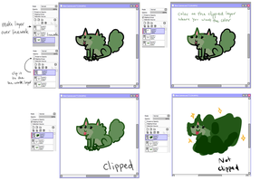 SAI Clipping Linework Tutorial by Kinla