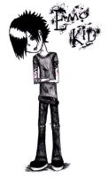 emo kid by crimsonheartbreak411