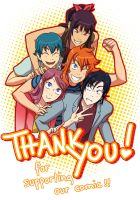 Thank you! by Flipfloppery