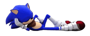 Sonic Slide Transparent GIF by Miiukka