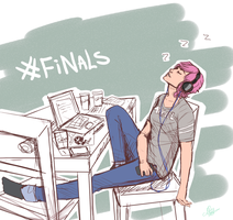 Finals by KatzeLexie