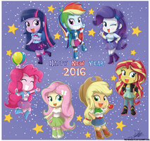 .:Happy New Year 2016:. by The-Butcher-X