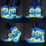 Arcane Boots - Home Slippers by O-l-i-v-i