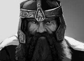 Gimli son of Gloin by FonteArt
