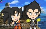 .:Vegeta and Goku:. Screenshot by Shadethebathog