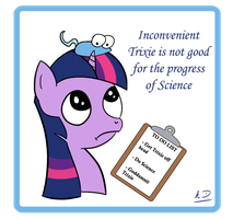Inconvenient Trixie in Science by hllday