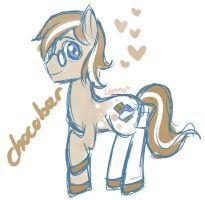 Chcobar Pony OC by CaptainLemmo