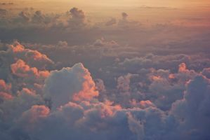 Clouds from the plane by FrostyMorningBliss