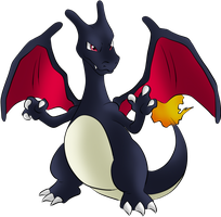 #006 Charizard by Icedragon300