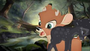 Bambi and Ronno render by Lop889763