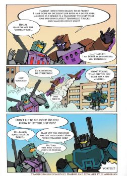 IDW Combaticons: Why Blast Off wasn't on Earth 2/2 by WolfWhiskers