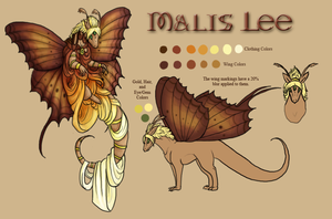 Reference - Malis by BeeZee-Art