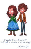 The Doctor's Wife by DamagedBrainzs
