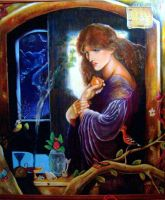 Proserpina tribute to D.G.Rossetti by Pidimoro