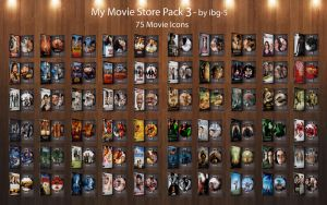 My Movie Store DVDs Pack 3 by ibg-5