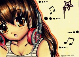 Music is my life by XRainbowXZebraX