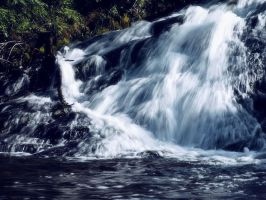 Rocky Harbour's waterfall 2 by LucieG-Stock