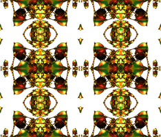 Lysergica Semitransparent Pattern 11 by PhotoComix2