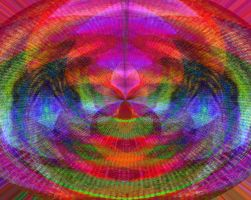 Psychedelic Couch 2 by Niedec-STOCK