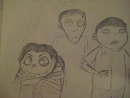 Frankenweenie Sketch Experiment Fail by kibadoglover45