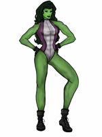 She-Hulk by vindications