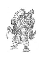 Ork Trophy Hunter by Fwo0sh