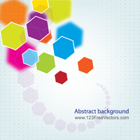 Abstract Polygon Background Vector by 123freevectors