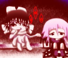asura and crona by yurika-sai-sama