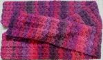 Solid Shell Stitch Scarf by NicoletheSuccubus